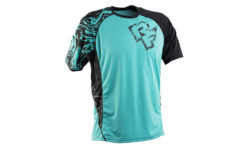 Polera Race Face INDY SS TURQ/BLACK
