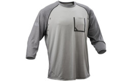 Polera Race face Stage LS DUNE/BLACK